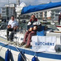 WC of Butchers entry at Cowes Regatta