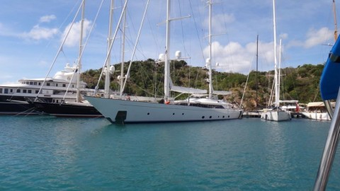 A week sailing around Antigua, February 2015