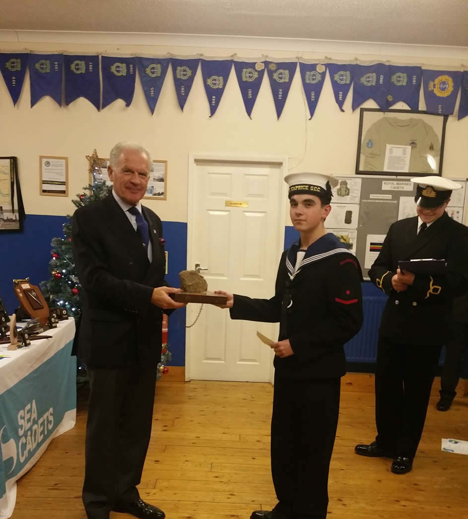 Bexley and Lewisham Sea Cadets  2nd December 2016
