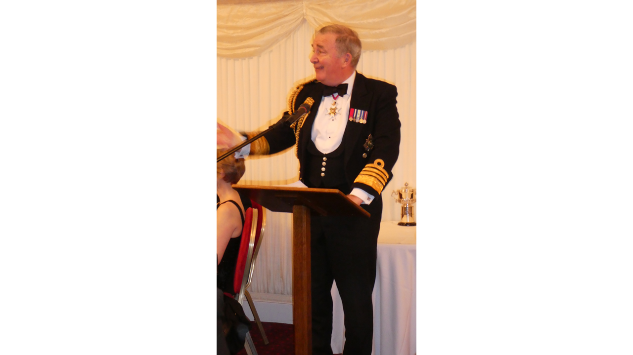 Fitting Out Dinner 20th March 2017
