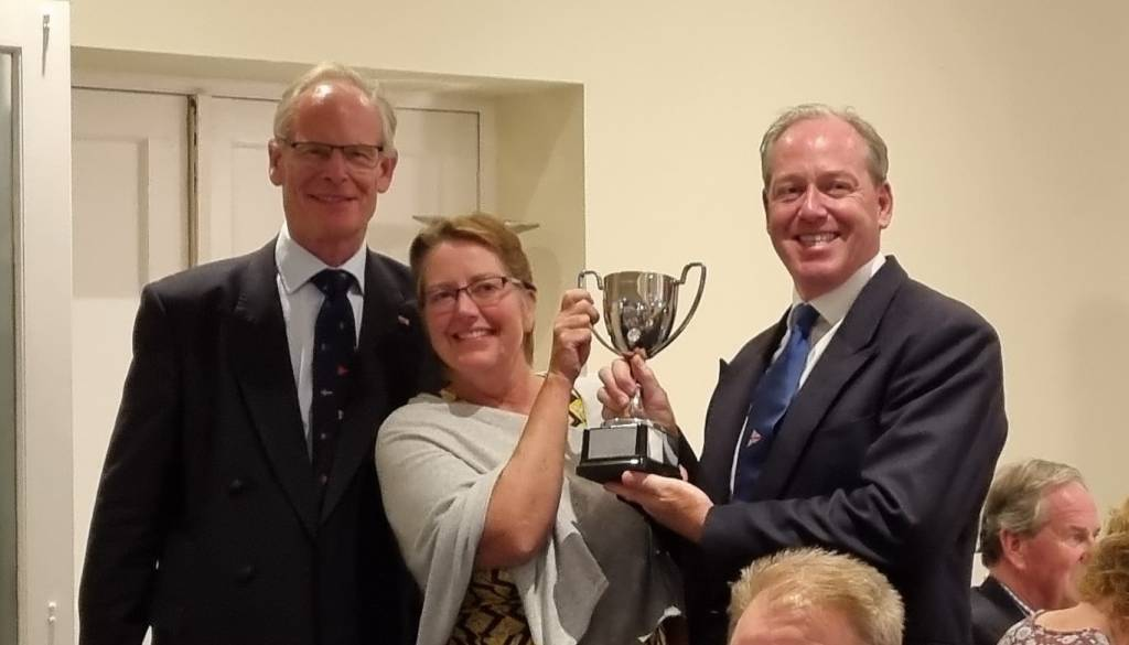 Sir Robin Gillet Cup went to the Wheelwrights, Nigel Biggs and Sharon Foulston