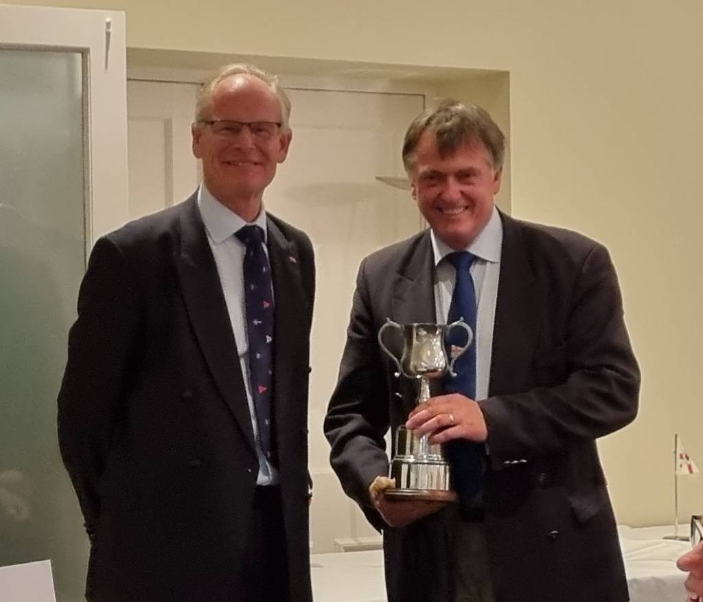 Champion Cup went to Dr Tim Fooks of the Leathesellers, for overall winners.